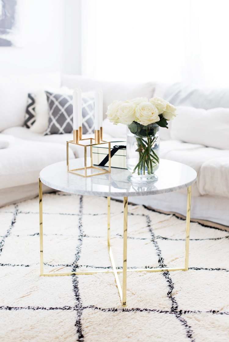 Couchtisch Gold Marmor 18 White Marble Coffee Tables We Love