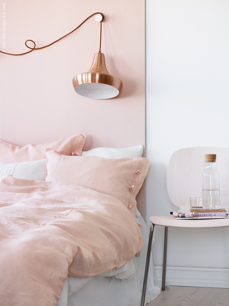 Inspirational Bathroom Accessories 14 Eye-catching Blush Pink & Copper Home Decor Ideas
