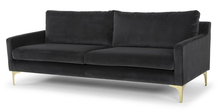 Chesterfield Sofas Pinterest 10 Best Dark Gray Sofas You Can Find Online