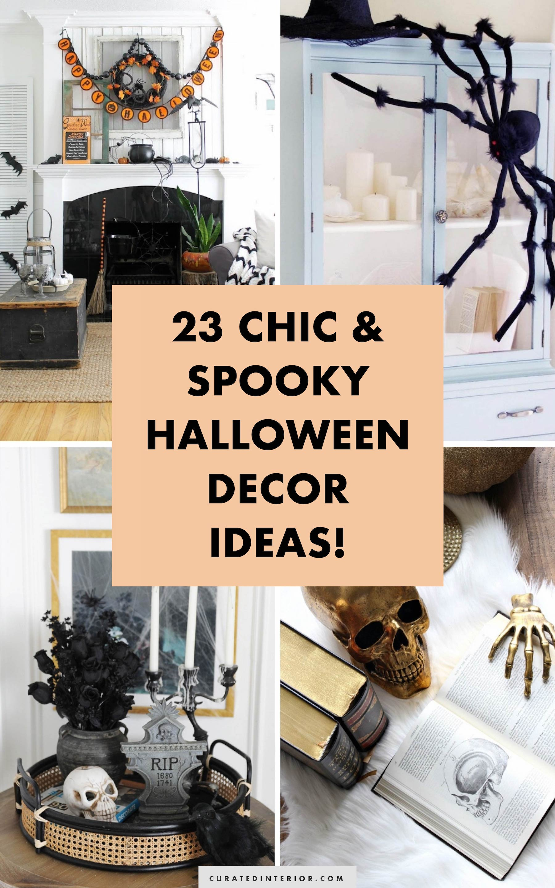 Halloween Chic 23 Chic Yet Spooky Halloween Decor Ideas For The Home