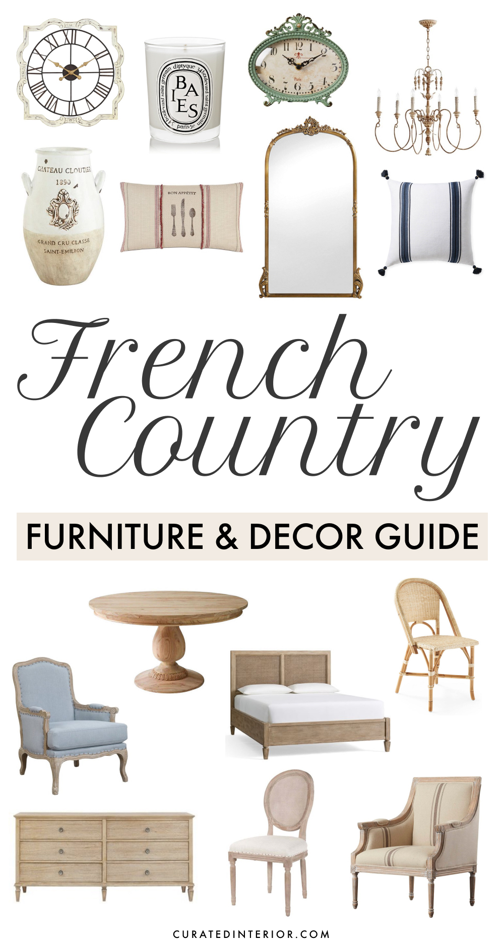 The Complete Guide To French Country Decor