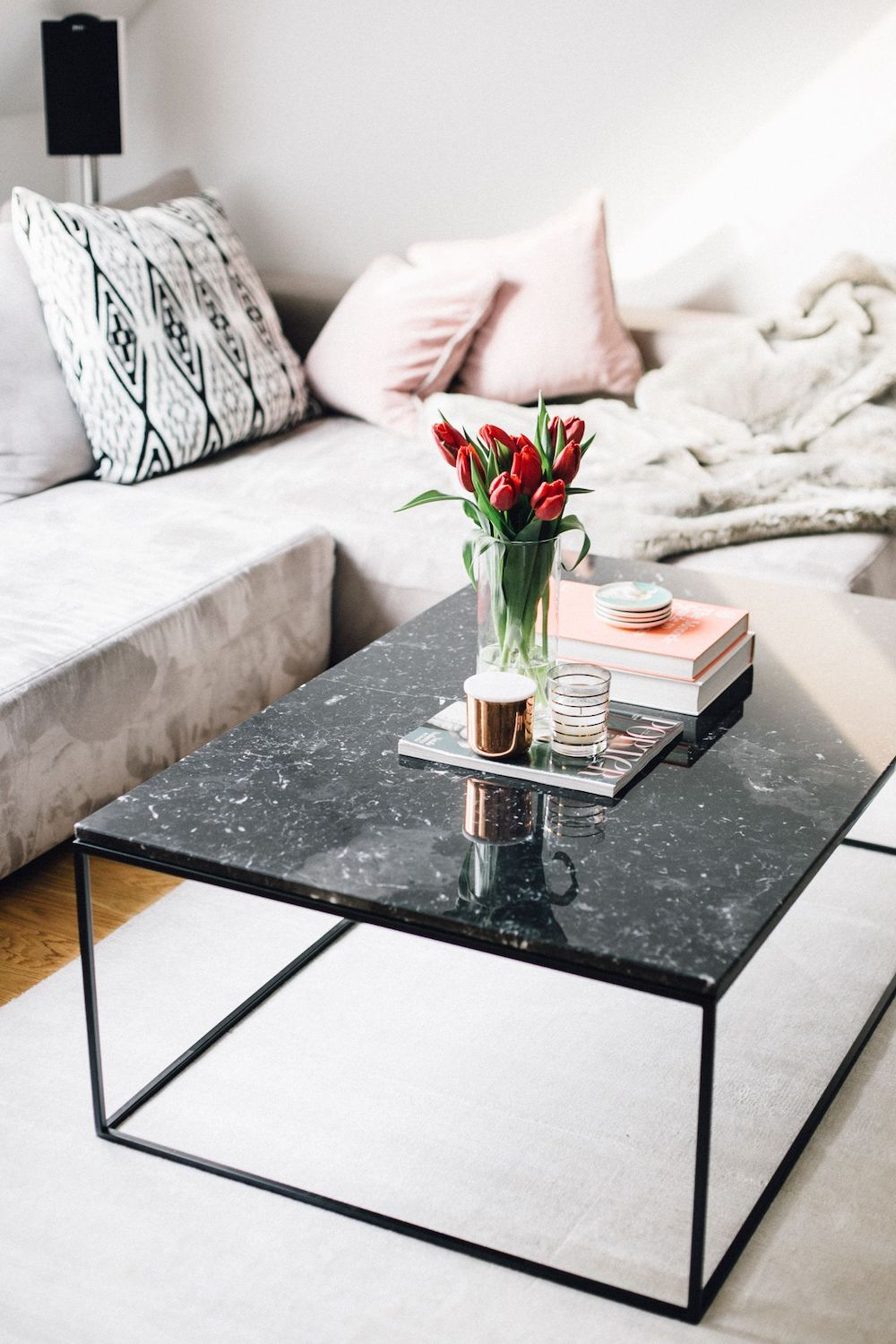 Marmor Couchtisch Interio 12 Black Marble Coffee Tables