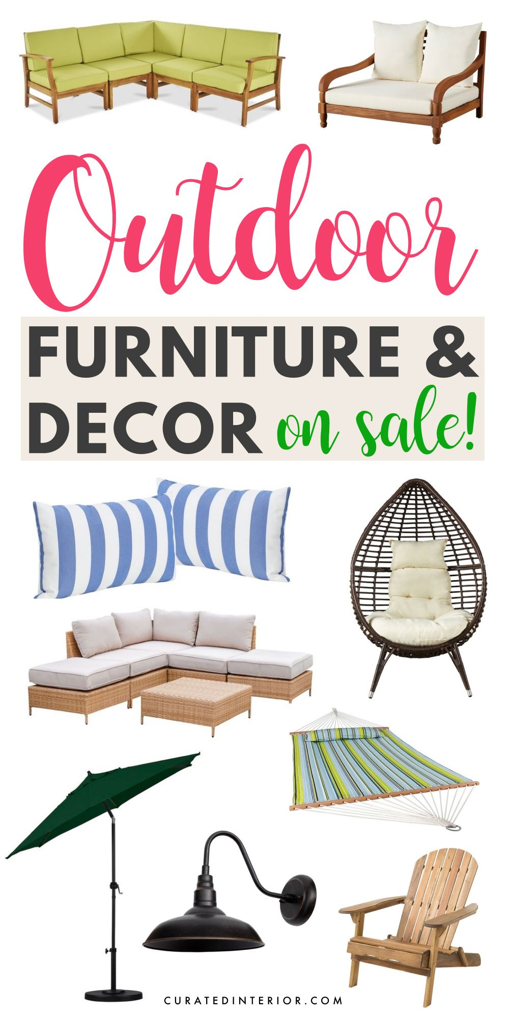 15 Pieces Of Outdoor Furniture Decor To Snag On Sale - Outdoor Furniture Clearance Sales