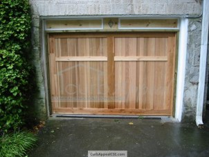 Custom Garage Door and Header