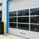 commercial aluminum sectional garage doors atlanta