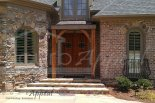 front door refinished in Alpharetta, GA