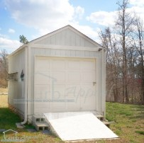 We build wood framed garages to your specifications.