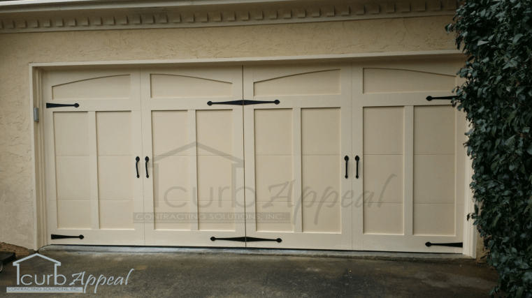 Photo gallery of our atlanta area garage door for Garage door refacing