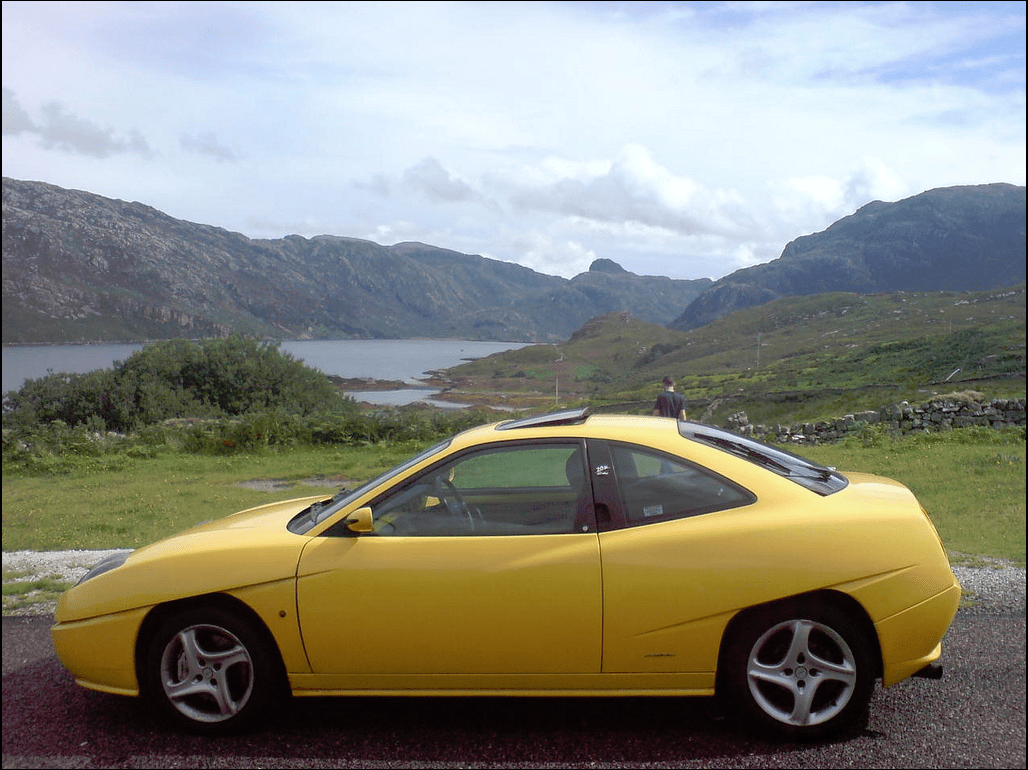 Fiat Coupe Cohort Outtake Splateagle Misses His 1998 Fiat Coupe 20v
