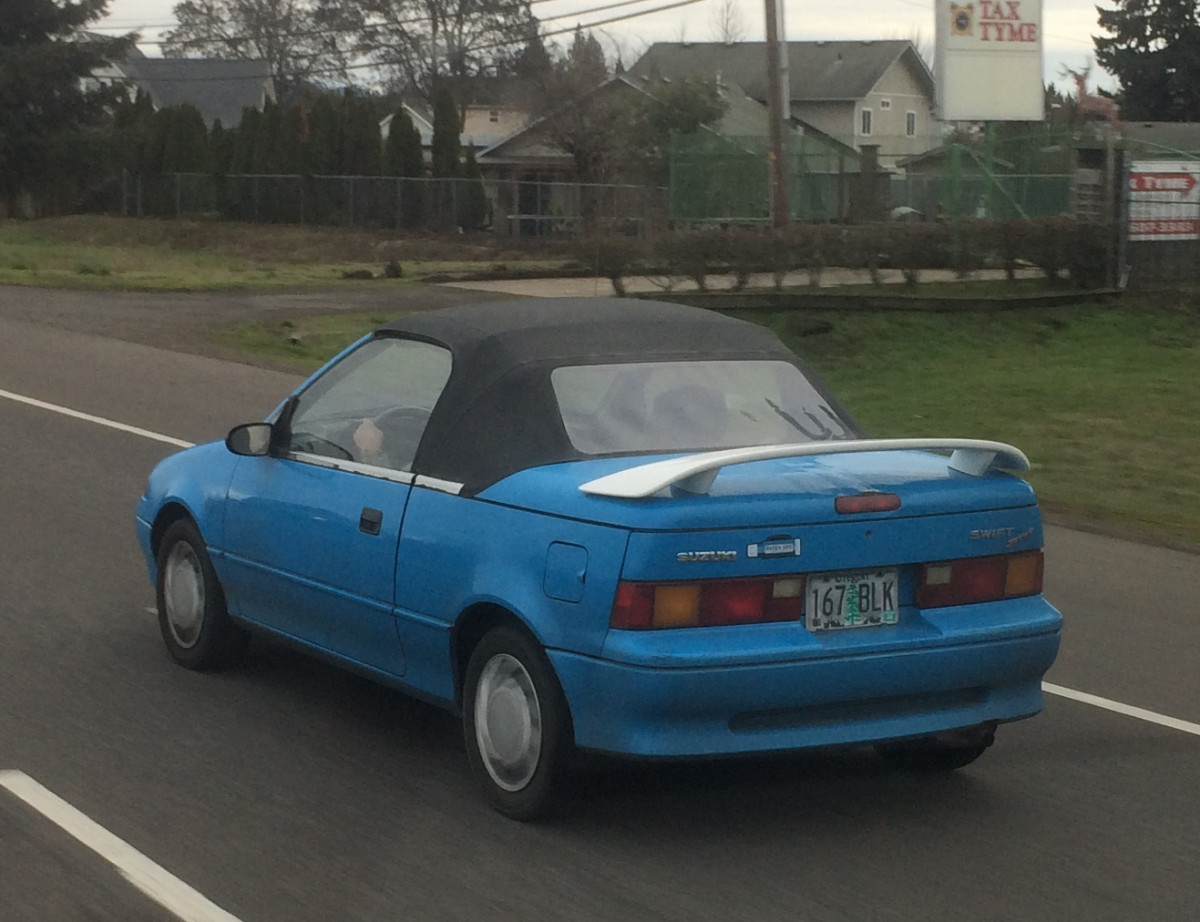 But Convertible On The Go Outtake 1991 Geo Metro Convertible In Suzuki Swift Disguise