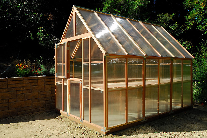 Treibhaus Bauen Installing The Garden Greenhouse | Curbstone Valley