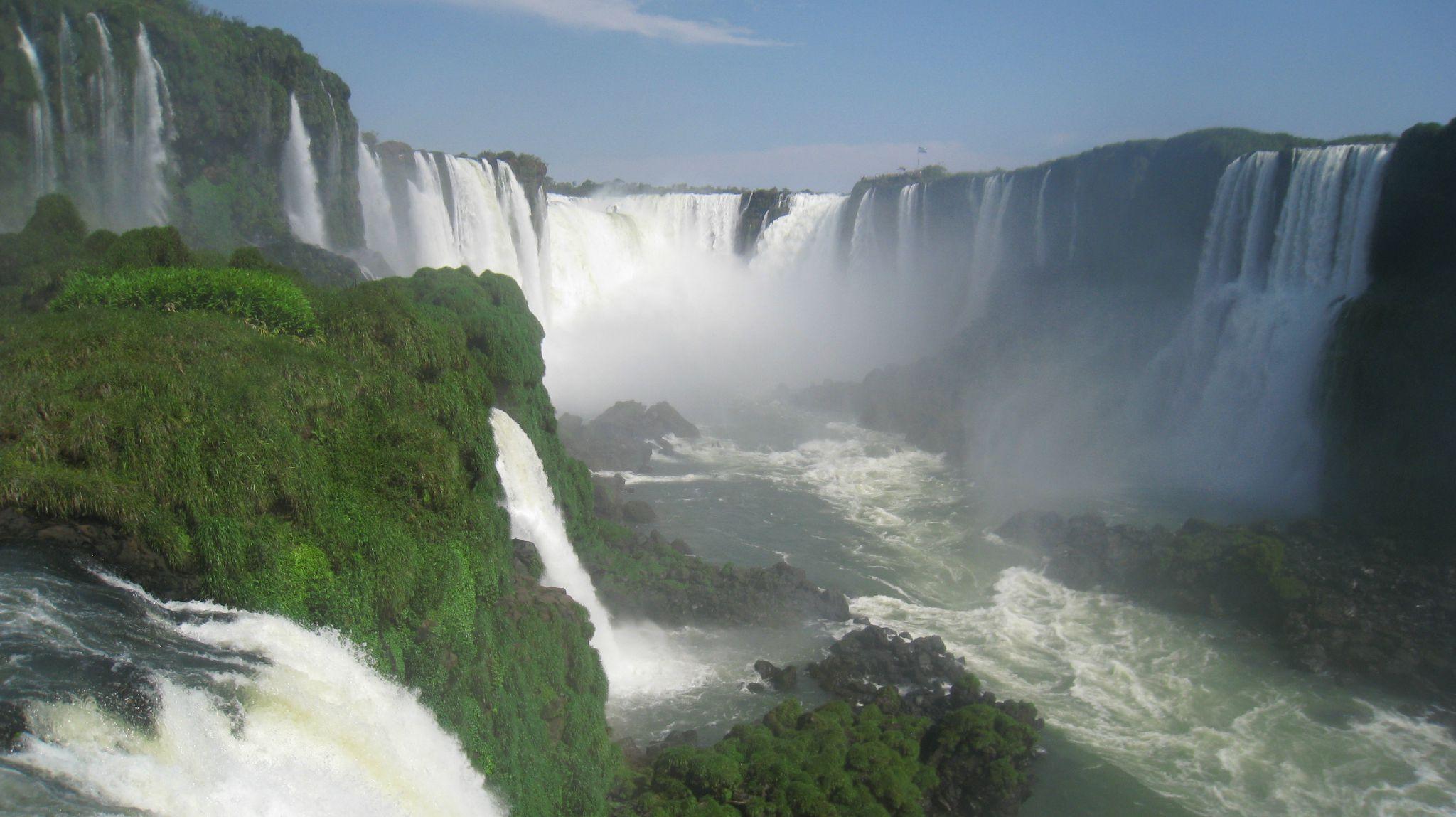 Iguazul Falls Wallpaper Chutes D Iguaz 250