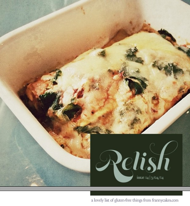 relish 14 | february 2013 | frannycakes picks gluten-free treats