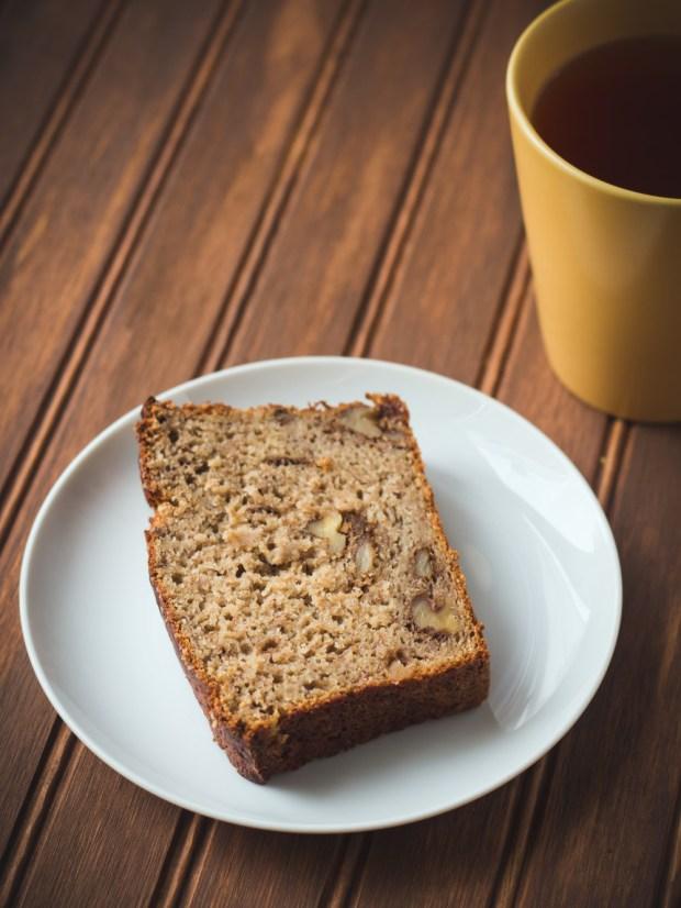 Gluten Free Banana Bread Recipe by Willow Arlen on FrannyCakes
