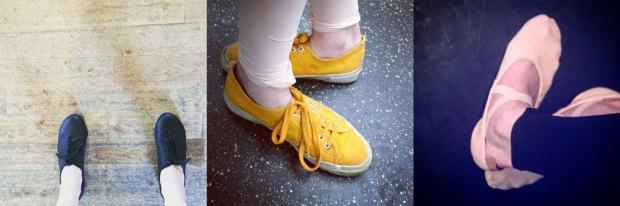 happy feet are dancing feet
