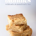 gluten-free blondies | a recipe from mary fran wiley