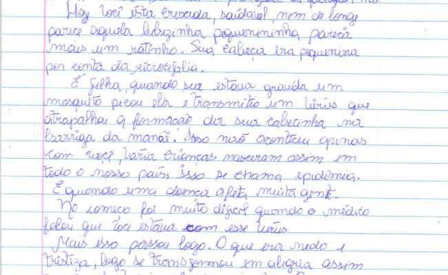 Mães Escrevem Cartas A Seus Bebês Com Microcefalia