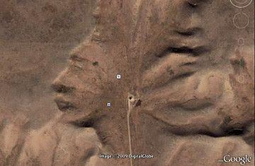 Descubrimiento curioso Google Earth 6