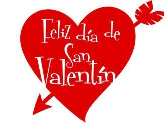Feliz día de San Valentín clásico