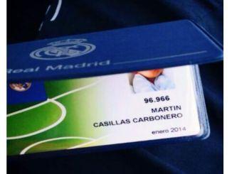 Martín Casillas Carbonero ya es Socio del Real Madrid