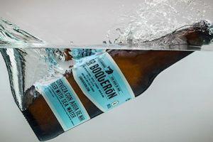 Cerveza elaborada con agua de mar
