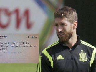 El supuesto error de Sergio Ramos con Robin Williams