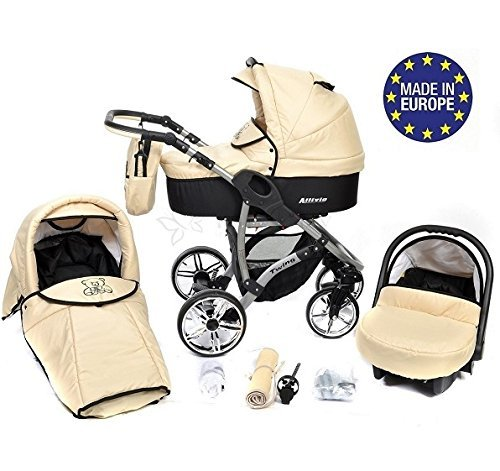 3 In 1 Prams Cheap Allivio 3 In 1 Travel System With Baby Pram Car Seat