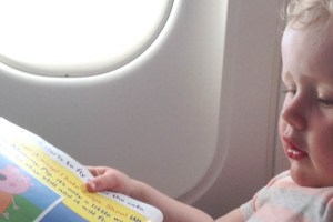 Flying with toddlers – Top ten tips