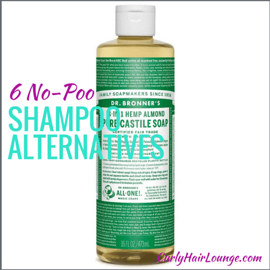 Alternative Shampoo 6 No Poo Shampoo Alternatives