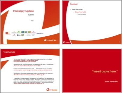 Presentation Templates Current Brand