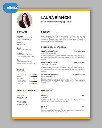 come fare un cv efficace