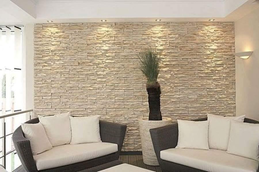 Faux plafond moderne dans la chambre à coucher et le salon Salons - decoracion de paredes