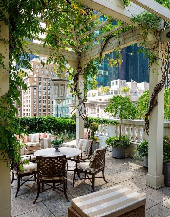 decoracion de terrazas con plantas (6) - Curso de Organizacion del - Decoracion De Terrazas Con Plantas