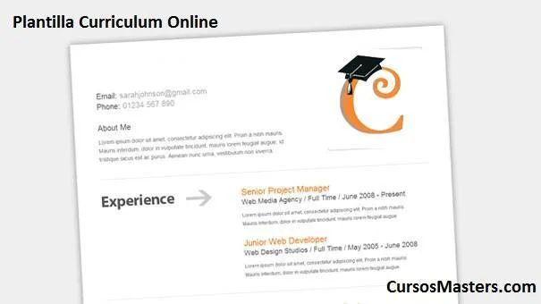 hacer curriculum vitae online