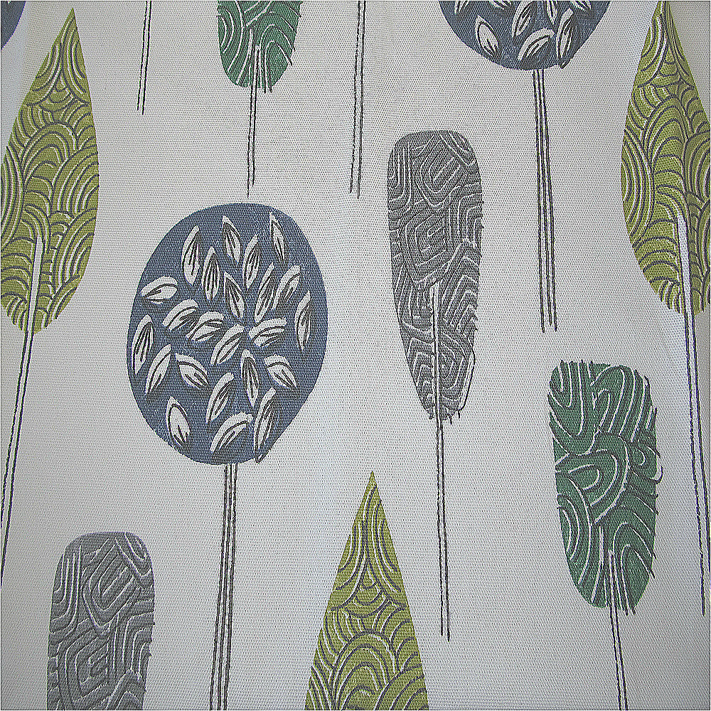 Scandinavian Ready Made Curtains Iliv Scandinavian Trees Curtain Fabric Violet Curtain Factory Outlet