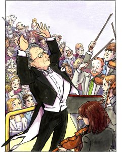 Maestro Boris Brott will conduct the McGill Chamber Orchestra in Poperetta (Visual courtesy MCO)