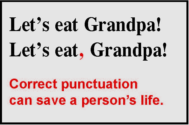 Comma Placement, Panda Character, and Bible Translation FOCUS ON - comma and and