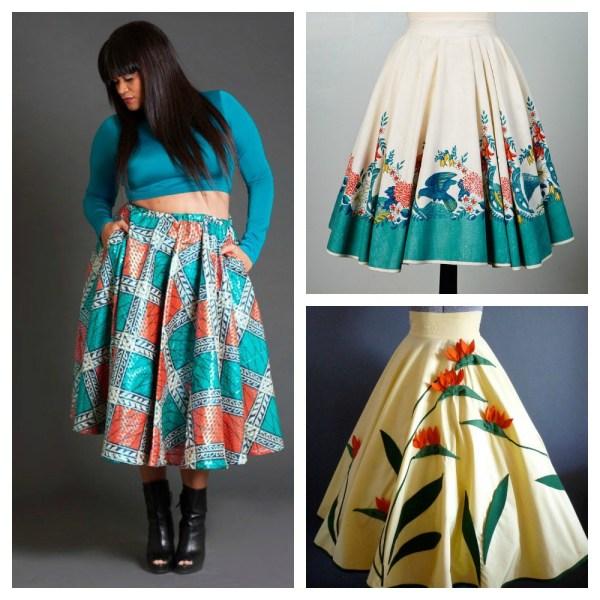 Circle Skirts Inspiration Amp Resources