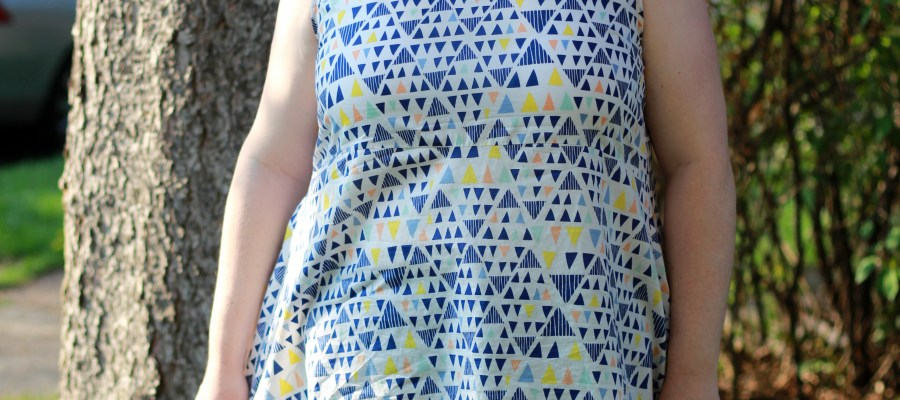 Pattern Review: Alice Tank from Magic Pattern Book