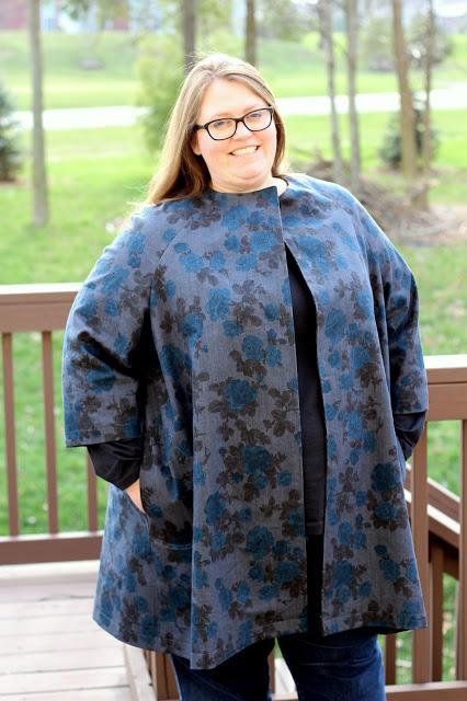 Indygo Junction Sophia Swing Coat