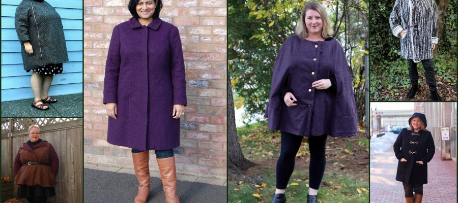 Pattern Roundup: Curvy Coats and Jackets