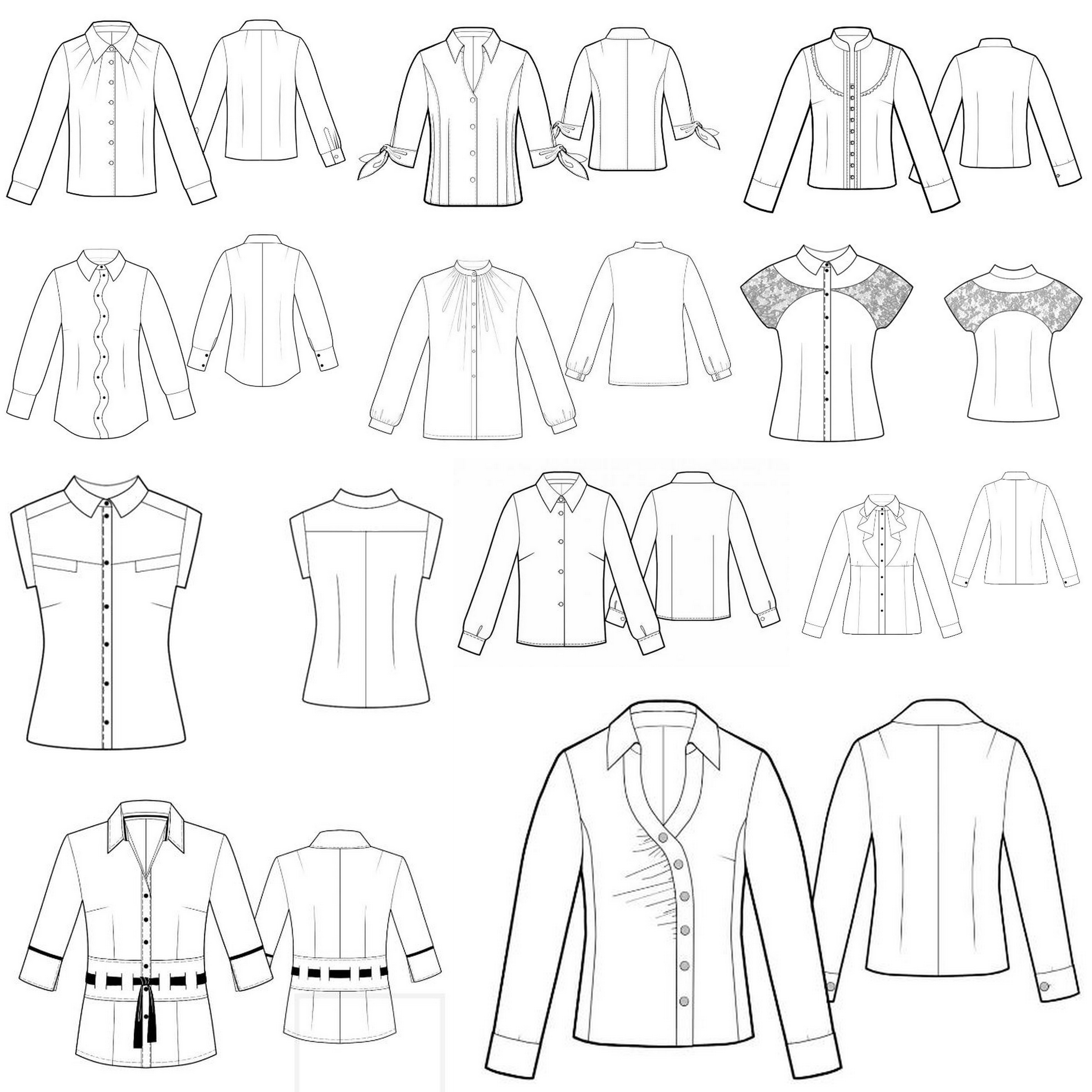 Welcome to the CSC Shirt-Making Month! | Curvy Sewing Collective ...