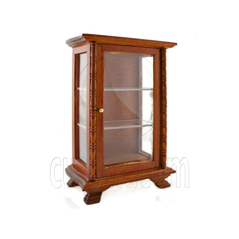 kitchen walnut display door cabinet dollhouse furniture dollhouse furniture kitchen set melissa doug