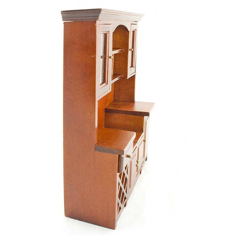 kitchen vintage walnut wood cabinet dollhouse furniture dollhouse furniture kitchen set melissa doug
