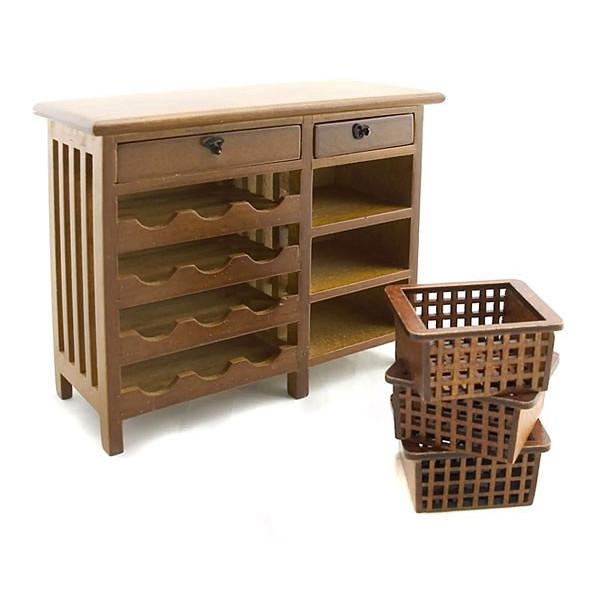 furnitures kitchen wine walnut cabinet drawer dollhouse furniture dollhouse furniture kitchen set melissa doug