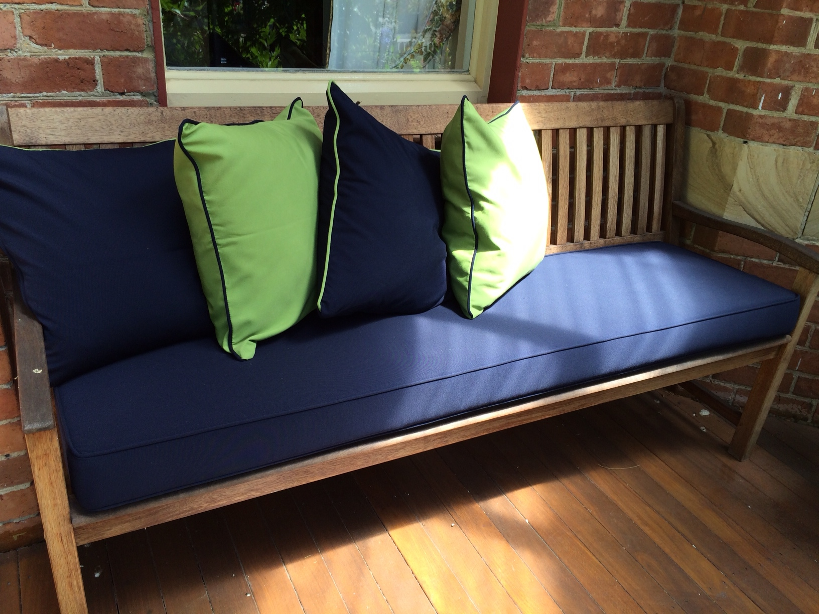 Outdoor Bench Cushions Australia Outdoor Cushion Inspirations For 2014 2105 Cushion Factory