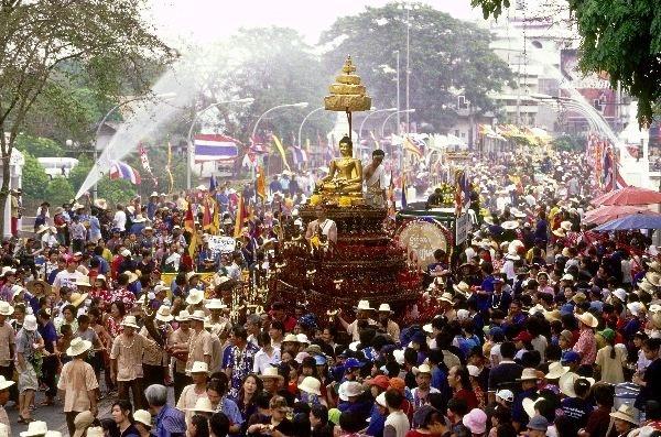 Songkran Festival in Bangkok