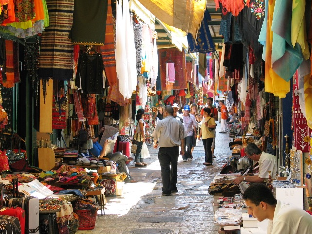 Go Shopping in Jerusalem