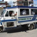 Getting around in Kathmandu by tuk-tuk