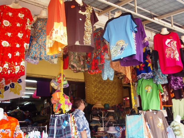 Shopping in Pangkor Island